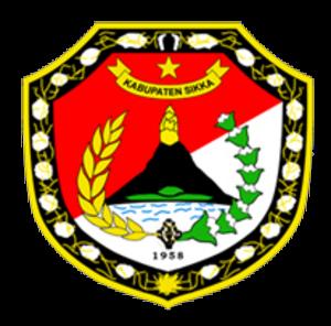 Sikka Regency - Image: Lambang Kabupaten Sikka