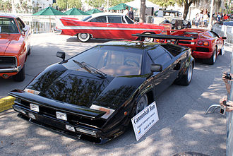 Lamborghini Countach - 1979 MY from The Cannonball Run