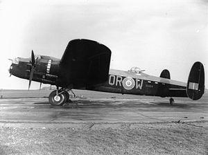 No. 61 Squadron RAF - Lancaster Mark II of 61 Squadron at RAF Syerston