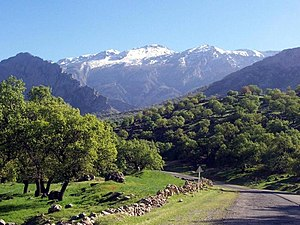 Kohgiluyeh and Boyer-Ahmad Province - Khamin Mount; Shadegan, Basht Gachsaran County in the end of Winter