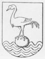 Langelands Nørre Herreds våben 1584.png