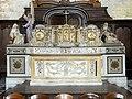 Laon (02), église Saint-Martin, croisillon nord, autel.jpg