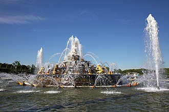 Latona Fountain - Image: Latona Fountain Gardens of Versailles Palace of Versailles original 1
