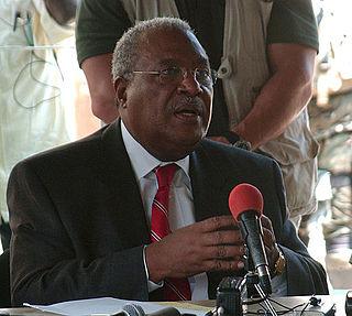 Gérard Latortue Haitian Prime Minister