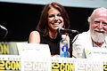 Lauren Cohan & Scott Wilson 2013 Comic-Con.jpg
