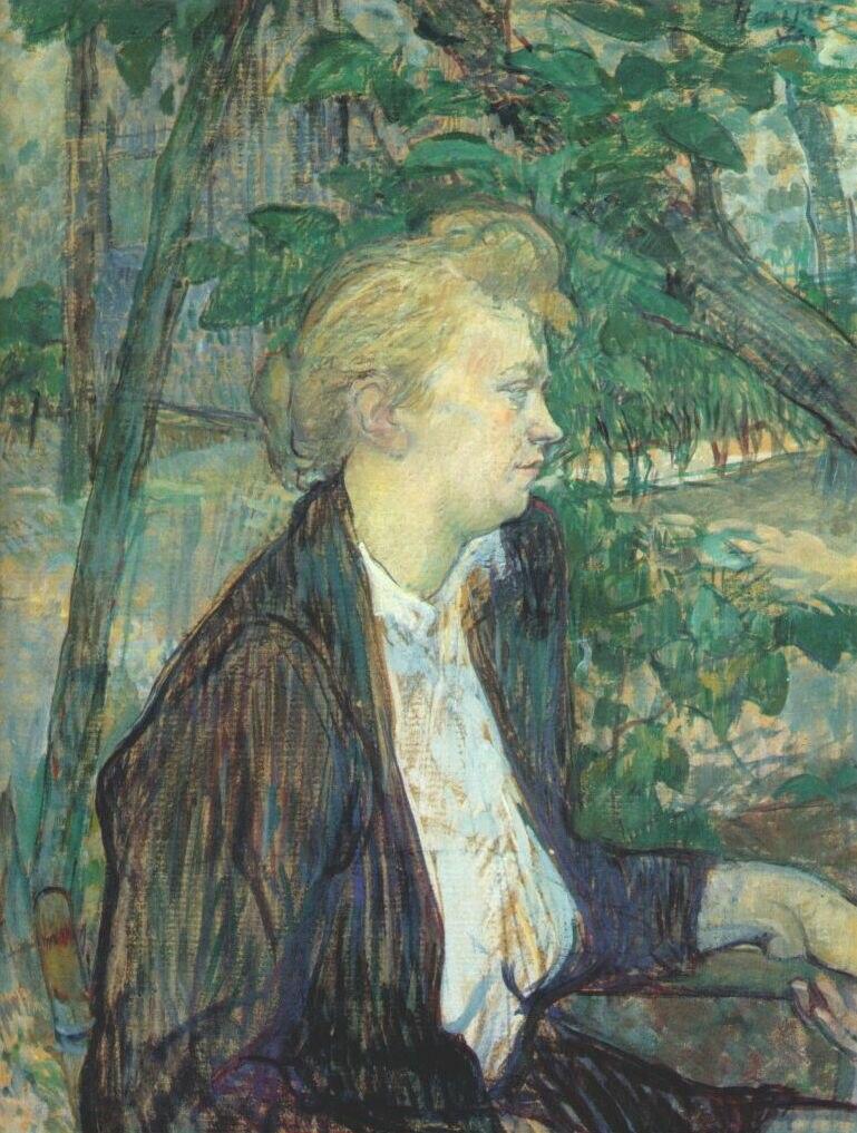 Lautrec gabrielle 1891