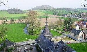 Jeker - Jeker river at Kanne (Belgium), near Château Neercanne
