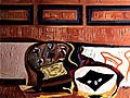 Le jeu de cartes - 50x65 cm, 1948.JPG