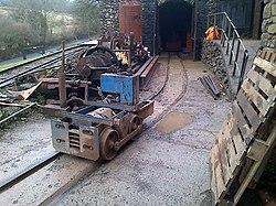 Lea Bailey Light Railway — Clearwell Caves (12348375133).jpg