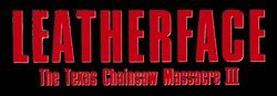 Leatherface - The Texas Chainsaw Massacre III Logo.png
