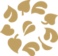 Leaves Ring Ornament Gold.png