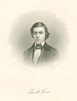 Bay Head, New Jersey - Leavitt Howe, founder with brother Edward Howe and two others of Bayhead Land Company, developers of Bay Head