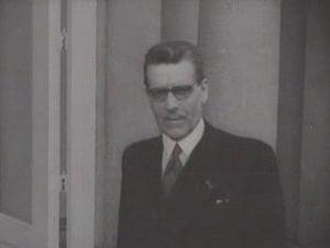 Leendert Antonie Donker - Leendert Antonie Donker in 1952
