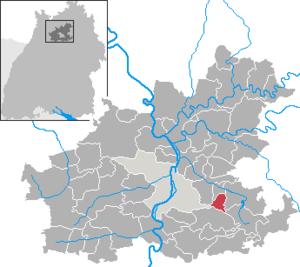 Lehrensteinsfeld - Image: Lehrensteinsfeld in HN