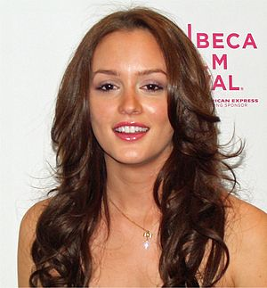 Leighton Meester - Meester at the Tribeca Film Festival in April 2008