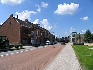 Sint-Katelijne-Waver - Image: Leliestraat Sint Katelijne Waver, kijkrichting Mechelen