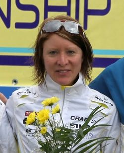 Lena Eliasson is a winner of Relay EOC 2010.jpg