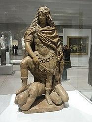 Gilles Guérin: Français: Louis XIV, roi de France (1641-1715), terrassant une figure allégorique de la Fronde