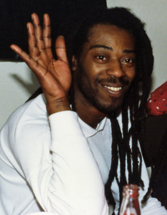 Leo Williams (musician) - Leo Williams during his stint with Big Audio Dynamite - San Francisco, 1987