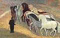 Leo Gestel Stalmeester met twaalf circuspaarden 1939.jpg
