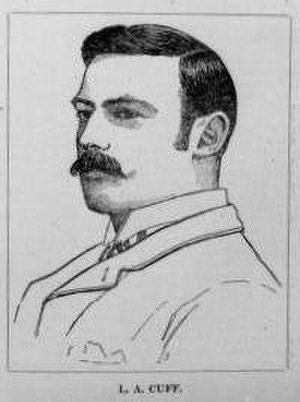 Leonard Cuff - Drawing of Leonard Cuff in 1890