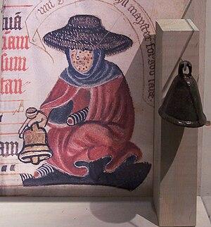 History of leprosy - Medieval leper bell