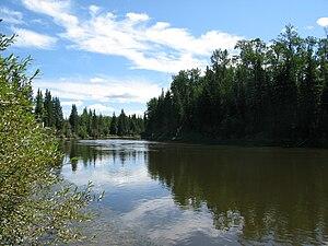 Lesser Slave River - The Lesser Slave River