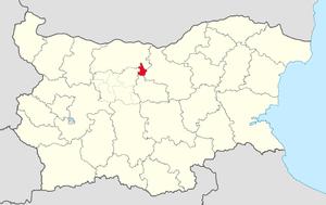 Letnitsa Municipality - Image: Letnitsa Municipality Within Bulgarial