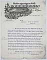 Letterhead of the Wood Industry Huber of Bozen-Bolzano, 1918.jpg