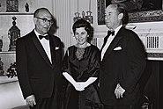 Levi and Miriam Eshkol and Adlai Stevenson