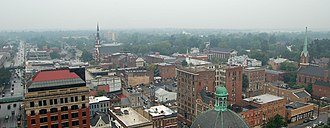Cityscape of Lexington, Kentucky - A portion of downtown Lexington in 2006.