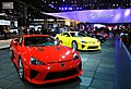 Lexus LFA x 4 at 2012 Chicago Auto Show.jpg