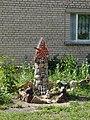 Lielās mājas mazie mākslas darbi, Zilupe, Zilupes novads, Latvia - panoramio - M.Strīķis.jpg