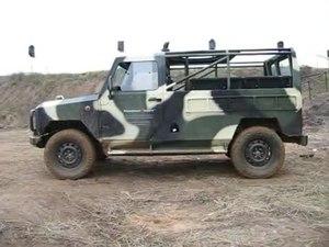 File:Light tactical vehicle Skorpion-2M.ogv