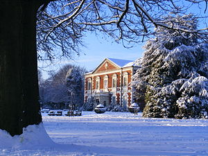 Lightwoods Park - Lightwoods House in winter