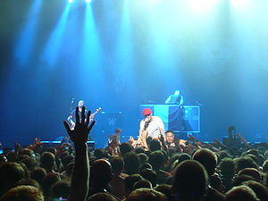 Limp Bizkit discography - Limp Bizkit at the Unicorns N' Rainbows Tour (Paris).