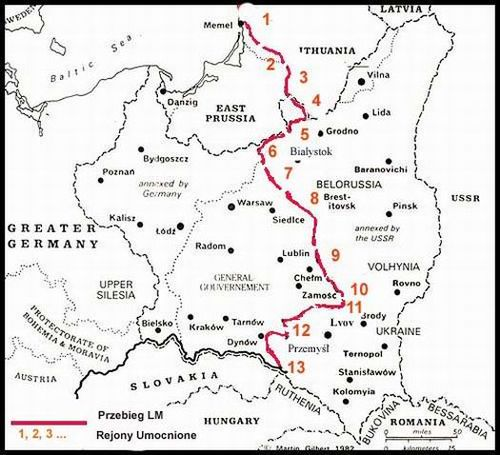 Укрепленные районы, (1939—1941