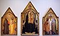Lippo d'andrea (pseudo ambrogio di baldese), madonna col bambino, donatori e santi, 1410-20 ca. 01.jpg
