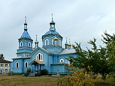 Liuboml Volynska-Nativity of the Theotokos church-south view.jpg
