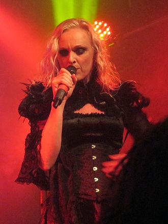 Liv Kristine - Liv Kristine at a live show in Israel, 2016
