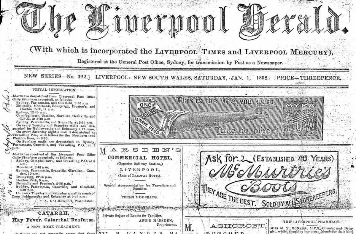 the liverpool herald