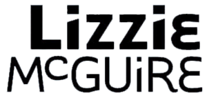 Logo for the TV series Lizzie McGuire.
