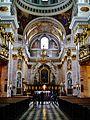 Ljubljana Kathedrale St. Nikolaus Innen 05.JPG