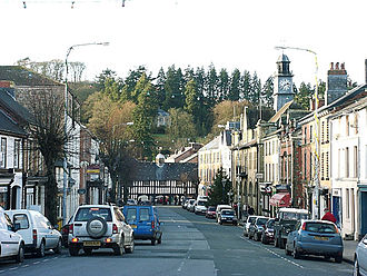 Llanidloes - Image: Llanidloes Great Oak Street