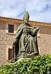 Lluc -Statue of Pere Joan Campins.JPG