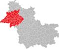 Localisation Communauté d'agglomération Territores vendômois en Loir-et-Cher, France.png