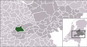 Acquoy - Image: Locatie Geldermalsen