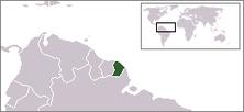 Guyana Francesa.