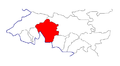 Location of Aksy District in Jalal-Abad Province, Kyrgyzstan.png