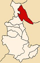 Location of the province La Mar in Ayacucho.png